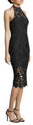 Nicholas Azalia Lace Cutaway Midi Dress