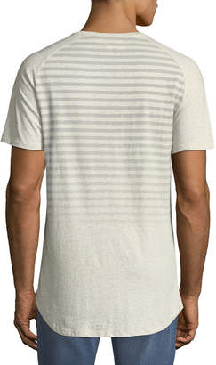 Civil Society Men's Chillax Striped Raglan-Sleeve T-Shirt
