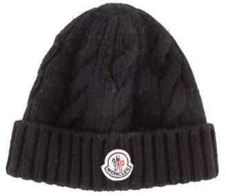 Moncler Wool Logo Beanie