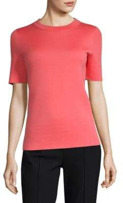 Escada Women's Cashmere Tee - Bright - Size Large