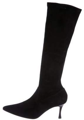 Manolo Blahnik Pascalare Knee-High Boots w/ Tags