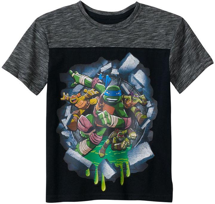 Boys 4-7 Teenage Mutant Ninja Turtles Colorblocked Tee