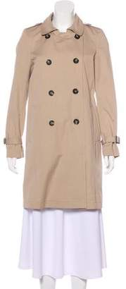 Gerard Darel Knee-Length Trench Coat