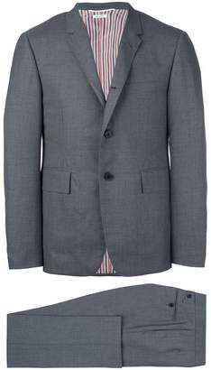 Thom Browne High-Armhole Plain Weave Suit in Super 120s Wool