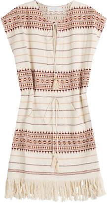 Zimmermann Embroidered Cotton Tunic