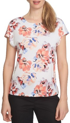Women's Cece Garden Bloom Knit Tee $59 thestylecure.com