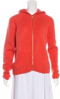 Celine Knit Zip-Up Jacket