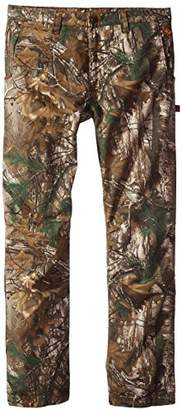 Justin Flame Resistant Men's Big-Tall Lightweight Twill Pant in Xtra Camo Fabric,46x36