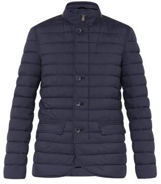 Herno Lightweight Quilted Down Jacket - Mens - Navy
