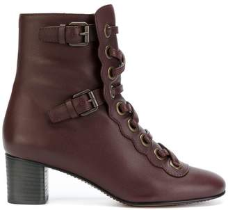 Chloé Orson lace-up boots
