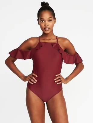 Old Navy Cold-Shoulder Swimsuit for Women