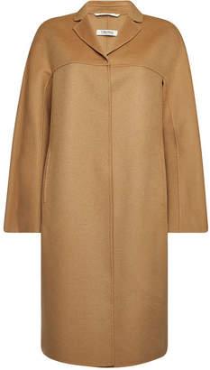 Max Mara S Adanew Coat in Virgin Wool and Angora