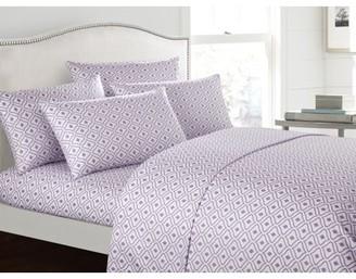 Chic Home Fawn 6 Piece Super Soft Sheet Set Diamond Pattern