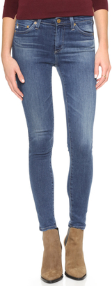 AG Midi Ankle Jeans $225 thestylecure.com