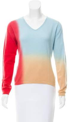 Bruno Manetti Colorblock Cashmere Sweater