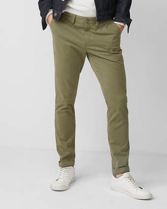 Express Skinny Stretch Garment Dyed Chino