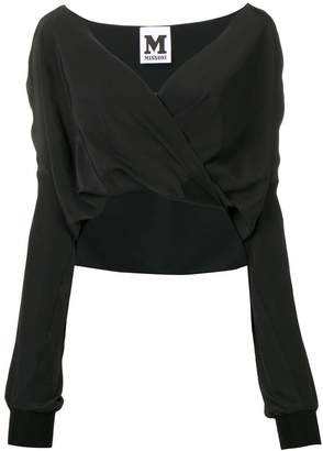 M Missoni wrap-around blouse
