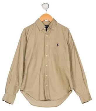 Polo Ralph Lauren Boys' Corduroy Button-Up Shirt