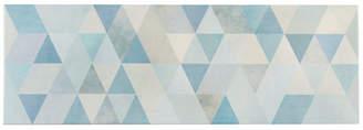 EliteTile SAMPLE - Genetique Ceramic Wall Tile in Blue