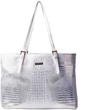 Sept Miracle New Women's Top Handle Crocodile PU Shoulder Bag Tote Bag for Traveling and Work