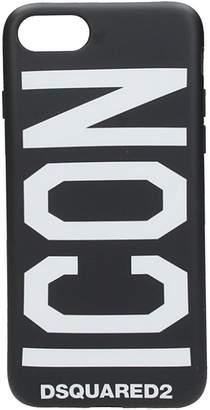 DSQUARED2 Black Plastic Iphone Cover