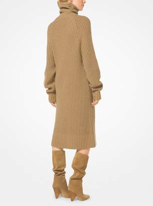 Michael Kors Cashmere and Mohair Sweater Dress