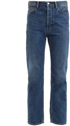 Acne Studios Blå Konst Log low-rise kick-flare jeans