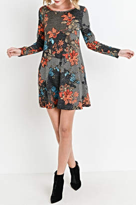 Aryeh Floral Knit Tunic/dress
