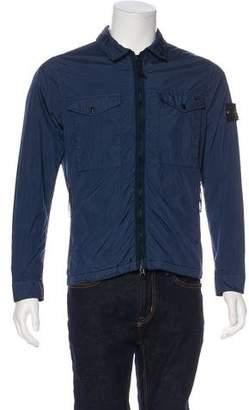 Stone Island Woven Zip Jacket