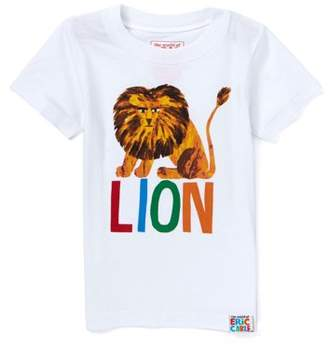 Eric Carle Toddler Girl and Boy Unisex Happy Lion T-Shirt
