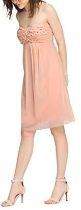 Esprit Women's Bustier Sleeveless Dress - Pink