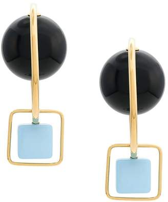 Marni stone-embellished earrings
