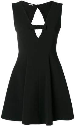 Miu Miu cut-out mini dress