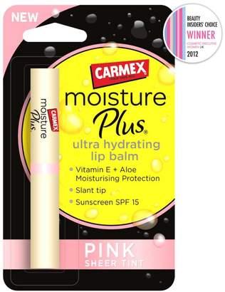 Carmex Moisture Plus Ultra Hydrating Lip Balm Pink Sheer Tint SPF15 2g