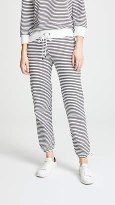 David Lerner Stripe Classic Sweatpants