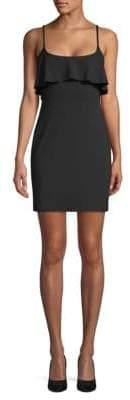 Susana Monaco Ruffled Sleeveless Mini Dress