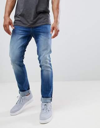 Class Roberto Cavalli skinny jeans in indigo wash