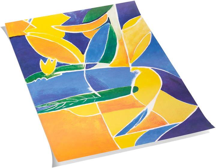 Hay - Transitions by Malin Gabriella Nordin Poster, 59,4 x 84,1 cm, multi
