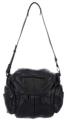 Alexander Wang Leather Marti Backpack Black Leather Marti Backpack