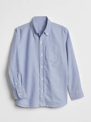Gap Uniform Oxford Long Sleeve Shirt