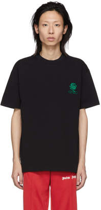 Kenzo Black Roses T-Shirt