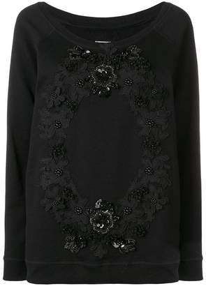 Antonio Marras floral embroidered jumper