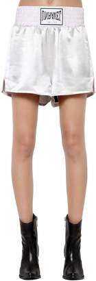 Unravel Silk Satin Boxing Shorts