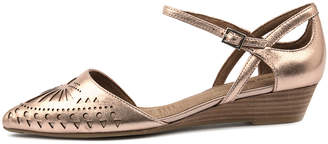 Diana ferrari Polonia Rose gold Sandals Womens Shoes Dress Sandals-flat Sandals