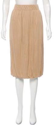 Akris Punto Knee-Length Stretch Skirt