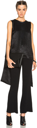 McQ Alexander McQueen Drape Tie Top $440 thestylecure.com