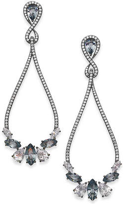 Danori Rose Gold-Tone Crystal & Pave Drop Earrings