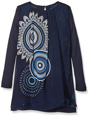Desigual Girl's Vest_Boston Dress,(Manufacturer Size: 13/14)