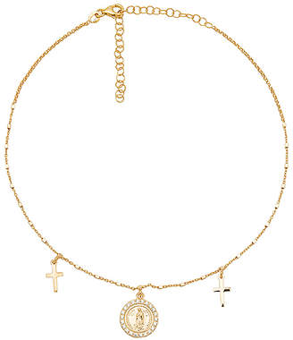 The M Jewelers NY The Three Medal Necklace