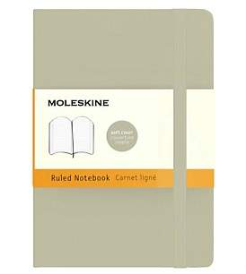Moleskine Classic Soft Cover Ruled Notebook Pocket